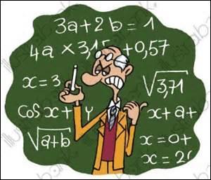 Ça va, ça va... Si on n'a même plus le droit de rigoler... Et si nous nous lancions dans les mathématiques ? C'est parti, comptez tous les E qu'il y a depuis le début de ce quiz, description et question 3 incluses !