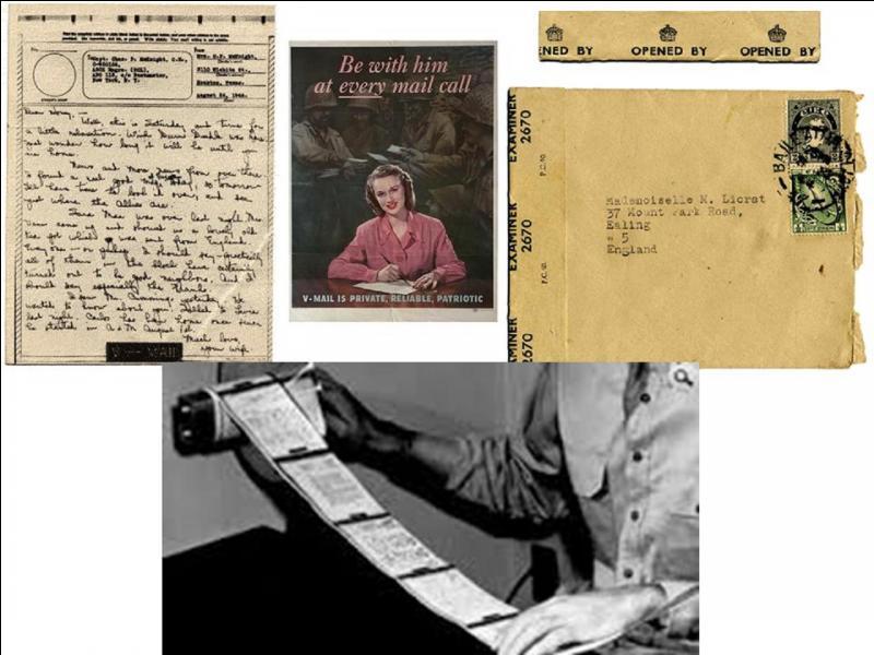 Pendant la 2e Guerre mondiale, comment le commandement US décida-t-il d'acheminer le courrier à destination des soldats ou de leurs familles ?
