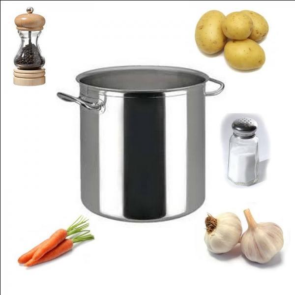 Quelle est cette bonne soupe ?