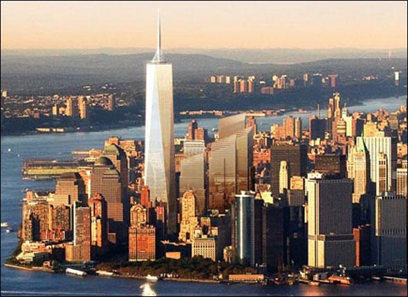 Cette tour est la tour centrale du nouveau complexe du World Trade Center . Débutés en avril 2006, les travaux devraient s'achever en 2012. Comment s'appelle-t-elle ?