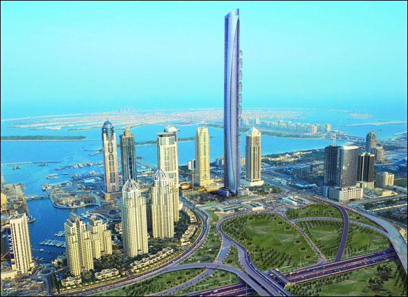 Quel est le nom de cette tour se situant à Dubaï ?
