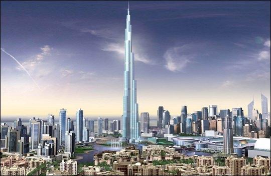 La tour la plus haute du monde ! Sa construction devrait s'achever en septembre 2009. Etonnamment, sa hauteur finale reste secrète. Elle devrait toutefois atteindre les 940 mètres. Où se situe-t-elle?