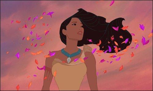 """P comme... Pocahontas, laquelle de ces paroles n'apparaît pas dans """"L'Air du Vent"""" ?"""