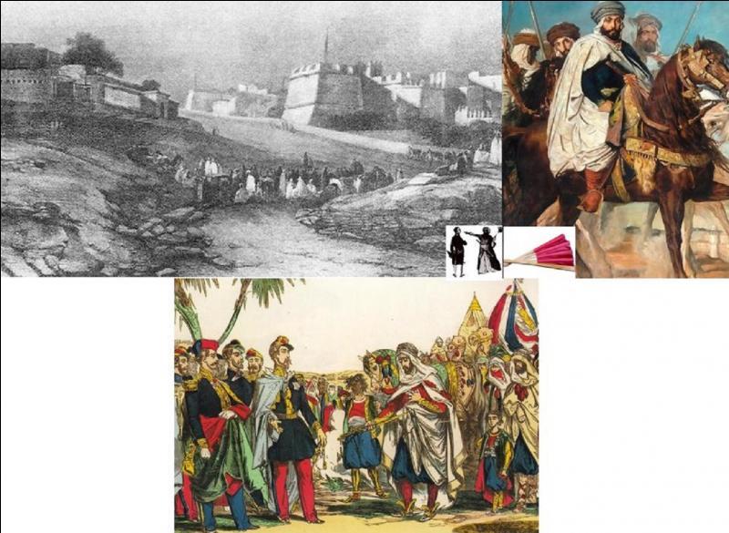En 1827, les premières troupes françaises commencèrent l'invasion de l'Algérie. Mais quel prétexte fut pris par le roi de France Charles X pour attaquer le dey d'Algérie ?