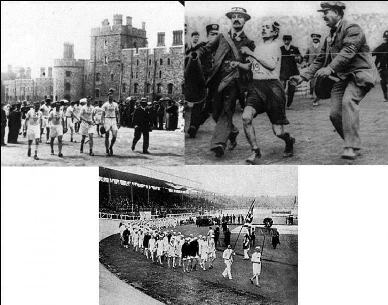 La distance actuelle du marathon est de 42, 195 km, elle a été fixée lors des jeux olympiques de 1908 à Londres. A la base, cette distance était de 40 km. Quelle est l'origine de la distance de 42, 195 km ?