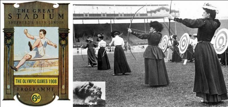 Restons avec ces jeux olympiques de 1908. Ils se sont passés à Londres. Mais, à votre avis, devaient-ils se passer dans cette ville ?