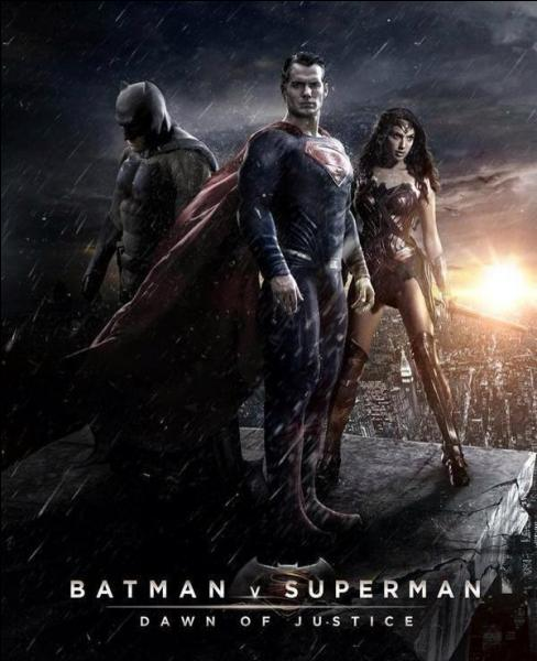 Quand sortira Batman V Superman : Dawn of Justice ?