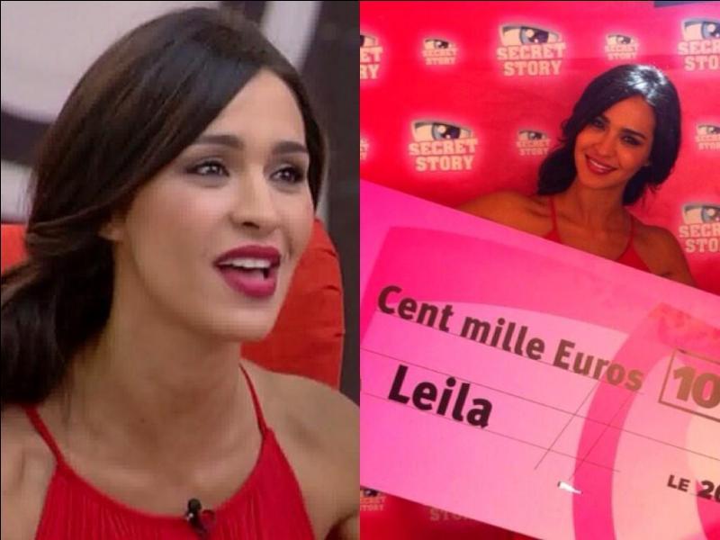 Lors de la finale, quel pourcentage des votes a obtenu Leila ?