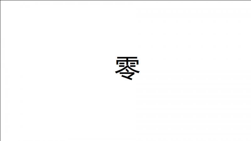 Voici le signe le plus compliqué en chinois pour faire un chiffre. Et il représente le...