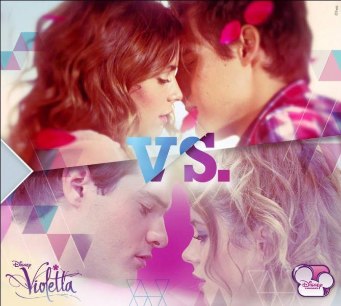 """Dans la saison 2 de Violetta, comment s'appelle celui qui """"l'aimait"""" ?"""