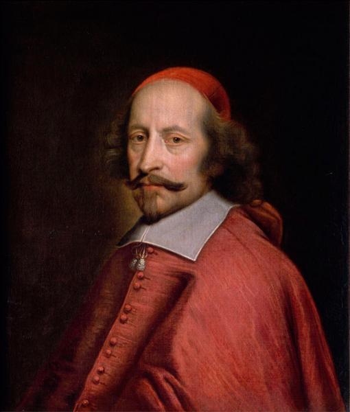 Quel célèbre cardinal est le Premier ministre de Louis XIV de 1643 à 1661 ?
