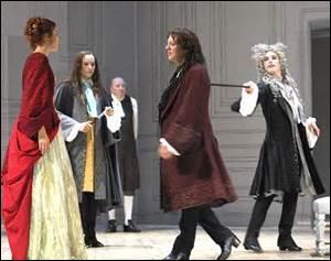 Alceste est jaloux d'un des soupirants de Célimène. Duquel ?