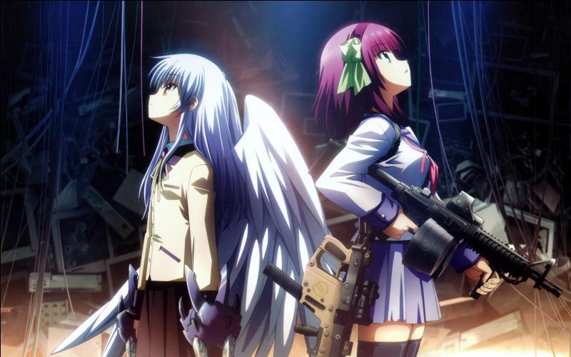 De quel manga viennent ces deux filles ?