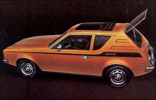 Voici une petite auto (pour les États-Unis) de chez AMC : mais où sont-ils allés chercher son nom ?