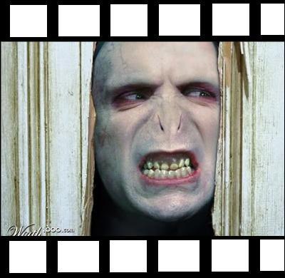 Aller, une dernière pour la route. Dans quel film Voldemort fait-il irruption ici ?