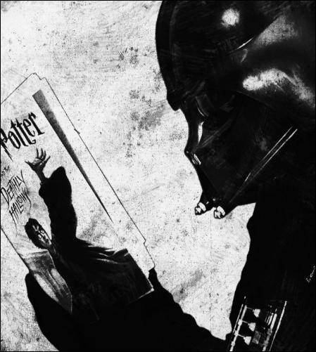 Quel livre Monsieur Vador est-il en train de lire ?