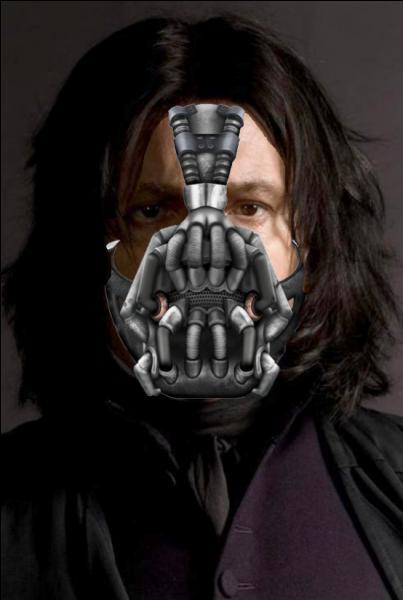 Retour dans l'univers de Batman. Bane porte ce masque parce qu'on lui a cassé le nez. Mais Rogue n'a pas le droit de porter ça ! Quel formule aurait-il dû employer ?