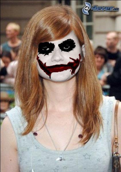 Sous le masque du Joker, qui pouvez-vous reconnaître ?