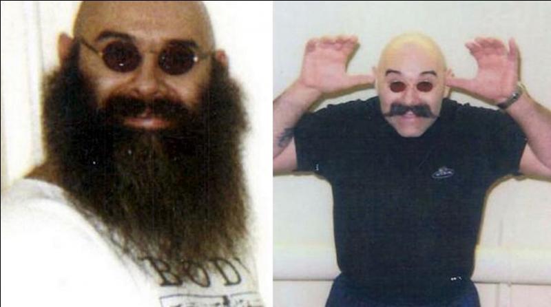 Comment se nomme ce prisonnier anglais qui a été condamné à 7 ans de prison (1974) pour un braquage raté et qui, actuellement est encore en prison pour de multiples prises d'otages, d'agressions ou de menaces de mort ?