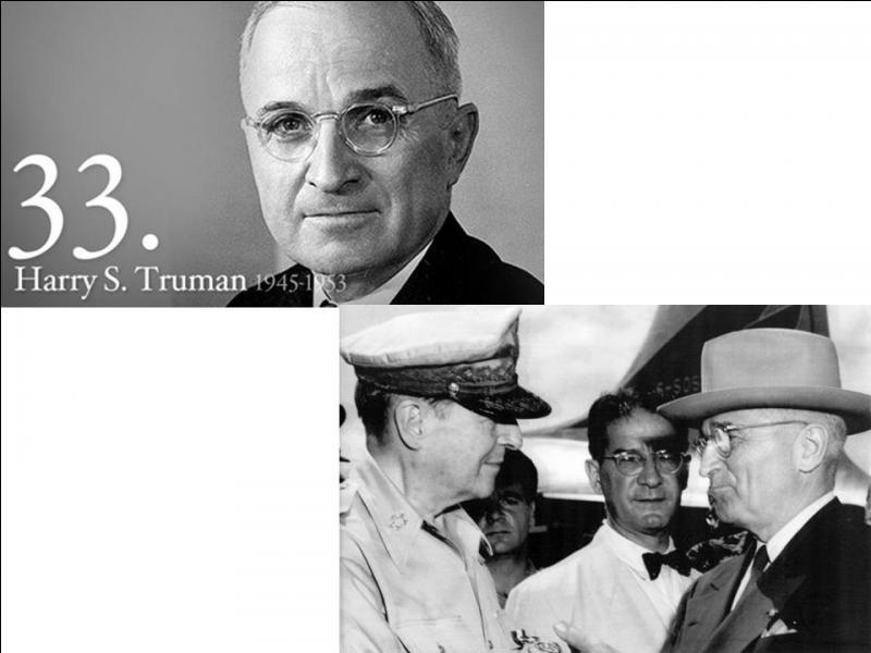 Souvent, aux Etats-Unis, les parents donnent à leur enfant deux prénoms. Par exemple, pour le Président Kennedy, on écrit régulièrement John F. Kennedy pour John Fitzgerald Kennedy. A vote avis, quel était le 2e prénom de du Président Harry S. Truman, celui qui commencerait par la lettre « S » ?