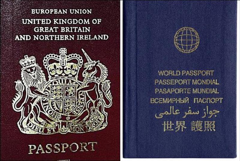 Cette personne, en théorie, ne possède pas de passeport. Elle n'en a pas besoin. Malgré tout, on lui en a fait un, mais cette personne ne l'utilise pas. Par contre ses proches en ont un. Qui est-ce ?