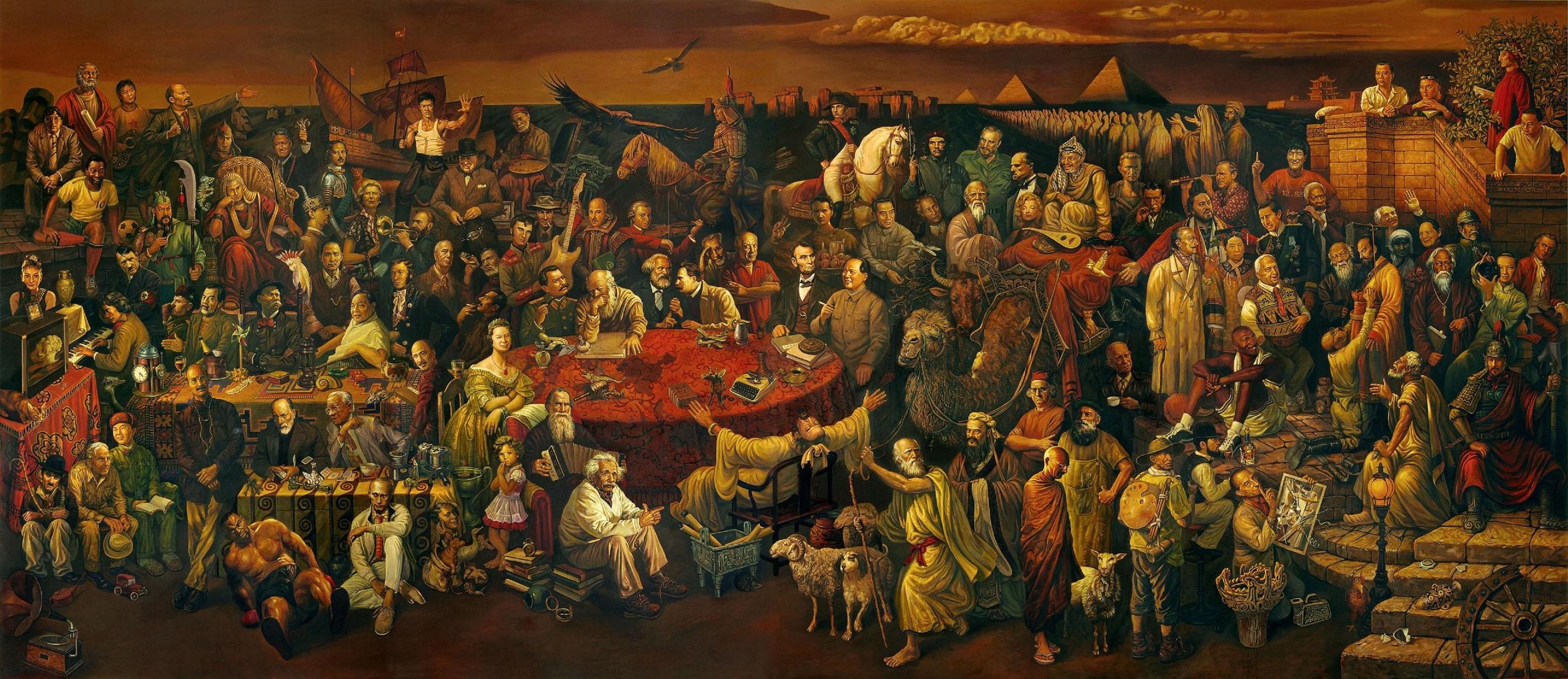 Anecdotes de l'histoire du monde, 14e série (Personnages…) !