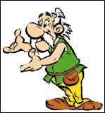 """Astronomix est le père d'Astérix. On le voit notamment dans l'album """"Astérix et Latraviata"""". Quel est son travail ?"""