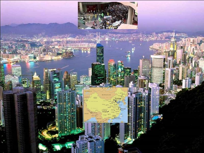 En quelle année la rétrocession de Hong Kong à la Chine eut-elle lieu ?