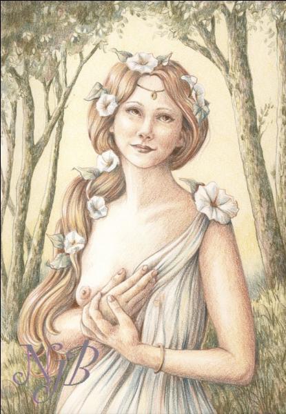 """Charlotte Julian nous chantait : Je suis une fleur ....."""""""
