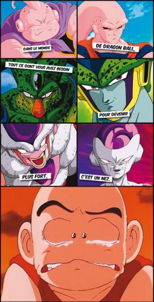 """Dans le monde de """"Dragon Ball"""", une chose est indispensable à avoir pour devenir plus fort. Il faut avoir :"""