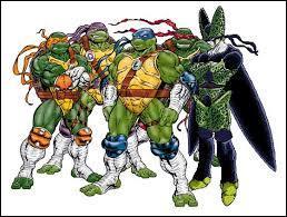 Qui s'est incrusté avec les tortues ninjas ?