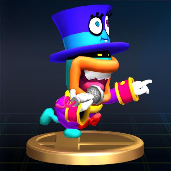 Quel est le prénom de ce personnage apparaissant uniquement dans  Mario Party 8  ?