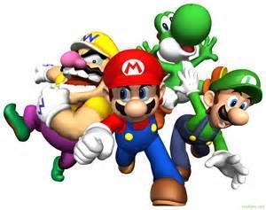 Les personnages du monde de Mario