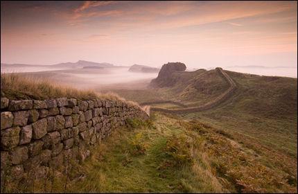 Quel est ce mur situé au nord de l'Angleterre inscrit au patrimoine historique mondial en 1987 par l'UNESCO ?