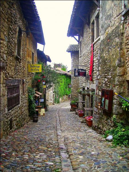 Ces vieux murs appartiennent à une cité médiévale de l'Ain. Quelle est cette ancienne cité de tisserands classée parmi les plus beaux villages de France ?
