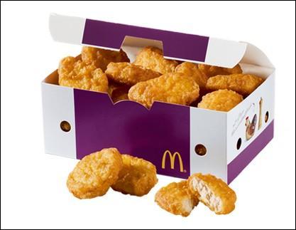 Comment se nomment ces petits panés au poulet McDonald's ?