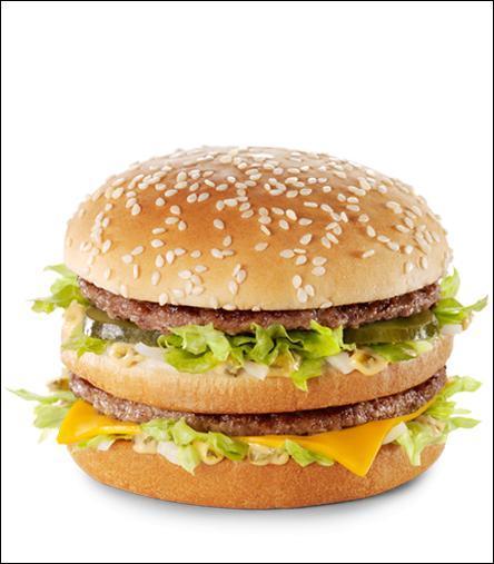 Les menus McDonald's
