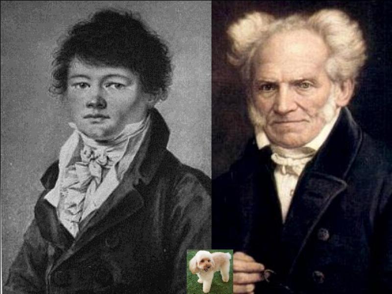 La pensée du philosophe Arthur Schopenhauer était celle d'un pessimiste, il n'avait que peu de relations sociales. A sa mort, à qui légua-t-il ses biens ?