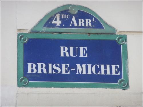 Facile : cette rue fameuse se situe dans le 4e arrondissement. Certes, mais de quelle métropole ?
