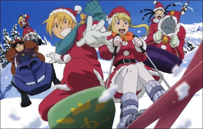 C'est Noël ! Ils ont tous un manteau du père Noël sauf un qui est déguisé en renne. Qui est-il ?
