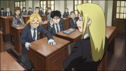 Qui est la studieuse professeur de cette classe ?