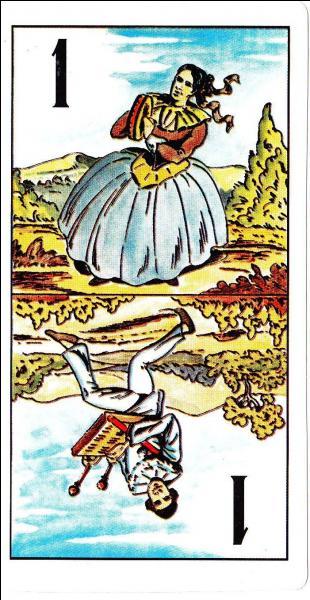 """Au jeu de tarot, que se passe-t-il si vous menez le """"petit"""" au bout ?"""