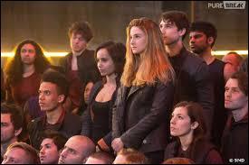 Lors de la visite des parents, Tris aperçoit en premier la famille de l'une des personnes de sa promo. De qui s'agit-il ?