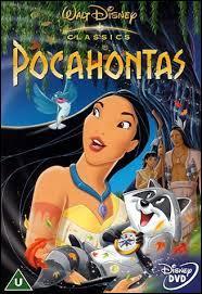 """En quelle année est sorti le film """"Pocahontas"""" ?"""