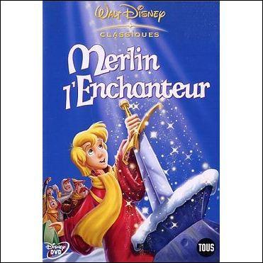 """Dans """"Merlin, l'enchanteur"""" comment est surnommé le jeune garçon de 11 ans qui est en réalité Arthur fils du roi d'Angleterre ?"""