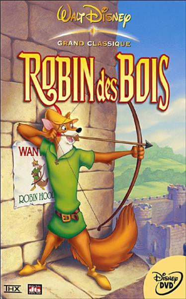 """Dans la version de Walt Disney quel animal représente """"Robin des Bois"""" ?"""