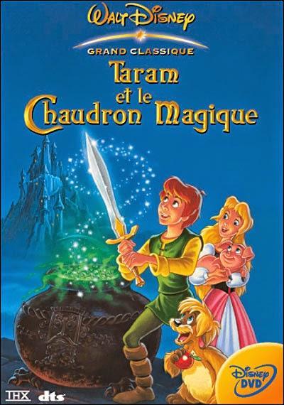 """Dans """"Taram et le Chaudron magique"""" comment s'appelle le porcelet fidèle compagnon de Taram ?"""