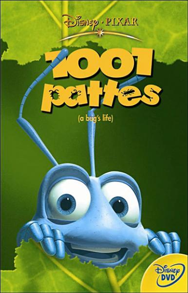 """En quelle année est sorti le film """"1001 pattes"""" ?"""