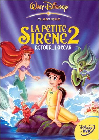 """Dans """"La Petite Sirène 2"""" comment s'appelle la fille d'Ariel et Eric ?"""