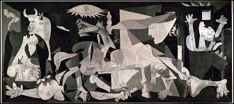 Qu'a voulu représenter Picasso à travers cette oeuvre ?